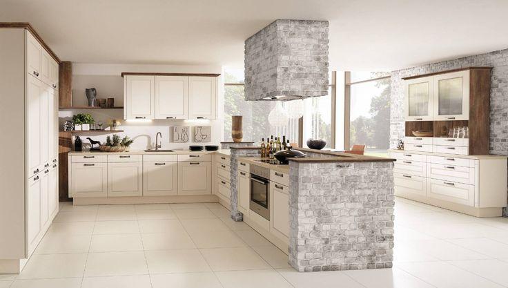 Technolux - Xenia - 111 Magnolienweiß Supermatt Küche Pinterest - technolux design küchen