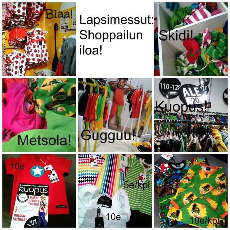 By Sari Kaariste : SHOPPING: Lapsimessut: Shoppailun iloa! (yhteistyössä Lapsimessujen kanssa)