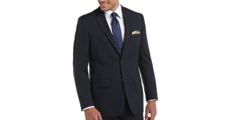Check this out! Pronto Uomo Platinum Suit Separate, Navy - Suit Separates from MensWearhouse. #MensWearhouse