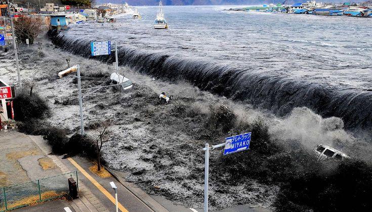 Le tsunami au Japon en 2011