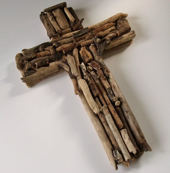 Crucifix or cross of Jesus made from by Justdriftingthrough