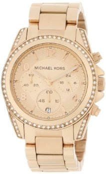 Michael Kors Watches Michael Kors Ladies Rose Gold Blair (Rose Gold) michaelkorswatch
