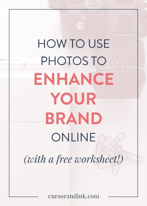 Good visuals are essential to creating a strong brand presence. Photography is a great way to do that! From DIY to free stock photos to paid stock photography, heres how to find and use the perfect photography for your blog to enhance your brand online (with FREE worksheet). Pin now so that you can come back to this resource later!
