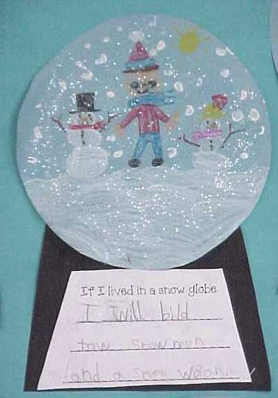 snowglobes...so cute: Snow Globes, Globes Writing, Writing Prompts, Snowglob Writing, Writing Ideas, Winter Craft, Writing Activities, Globes Art, Art Projects