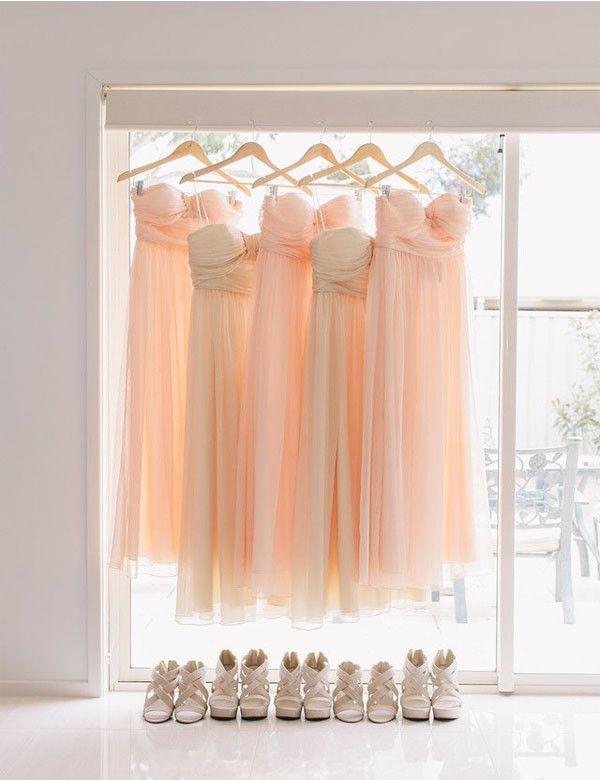 Custom bridesmaid dress,Cheap bridesmaid dress,Strap bridesmaid dress ,Floor-length Bridesmaid dress ,PD89