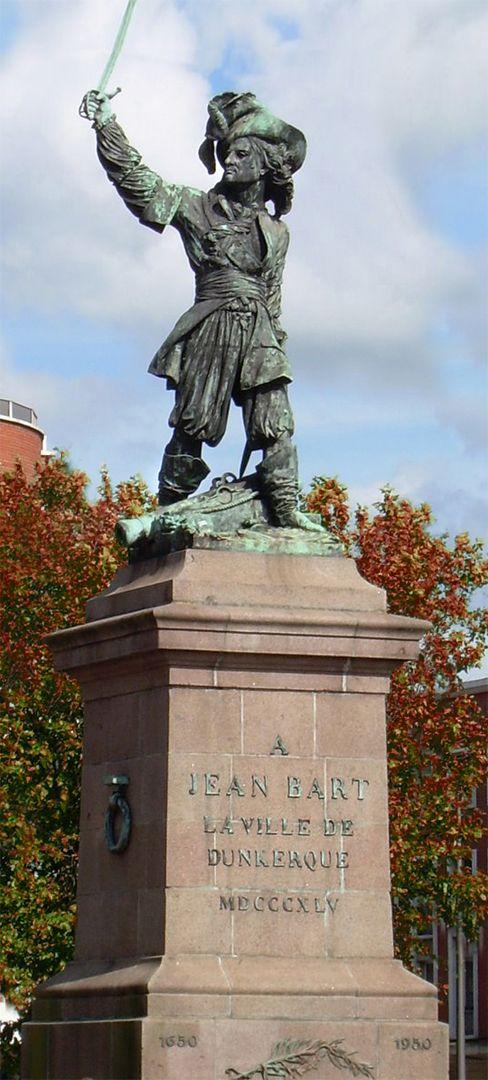 Statue de Jean Bart, Dunkerque