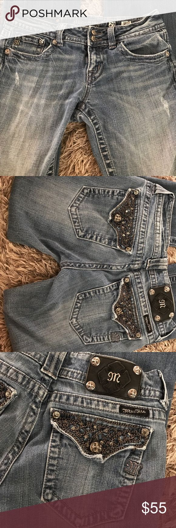 Miss me jeans Nice Miss Mes size 29 Miss Me Pants Boot Cut & Flare