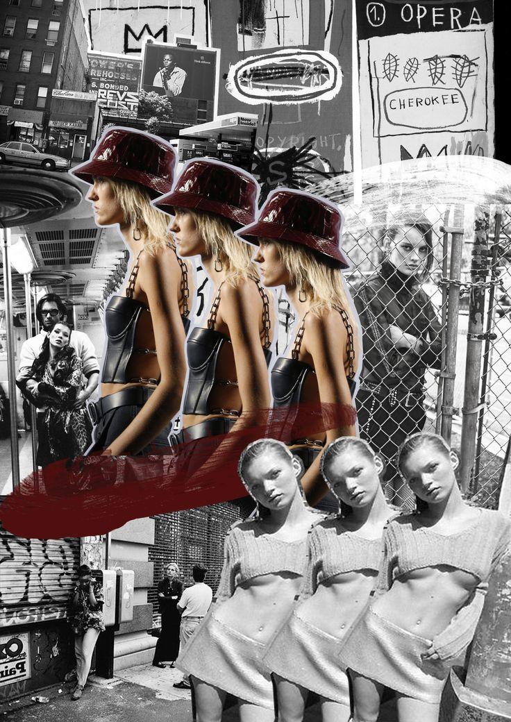 Street Fighter - Digital Collage by Alisha Harding