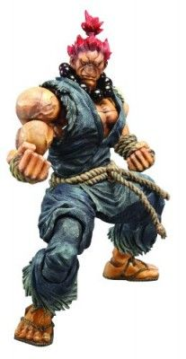 Action Figure Square Enix Street Fighter IV Play Arts Kai Akuma #Brinquedos #ActionFigure