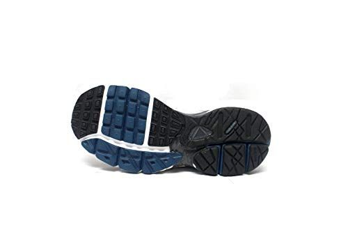 online store eb016 6f013 Amazon.com  Nike Mens Zoom Nucleus MC + Running Shoes (7,  WhiteBlueGrey)  Road Running