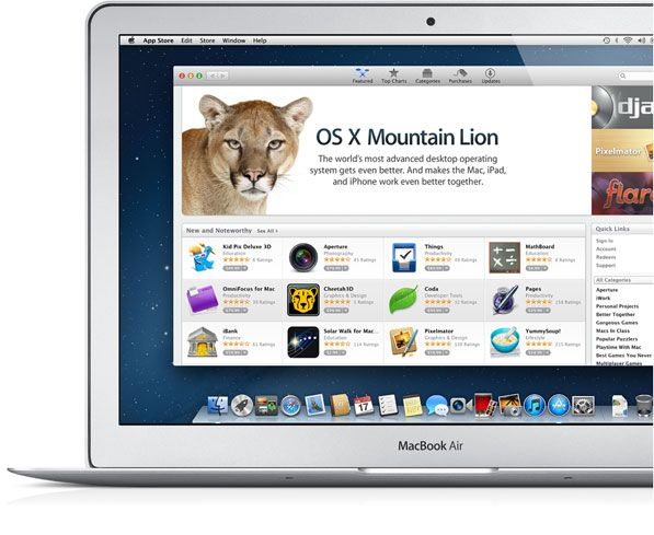 Apple Confirms That Mountain Lion Will Not Be Available On Older Macs