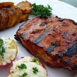 Smoky Grilled Pork Chops Allrecipes.com