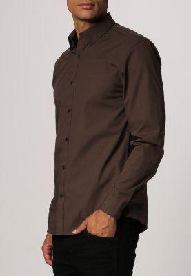 ONE TRAVIS DUBLIN - Casual overhemd - chocolate brown