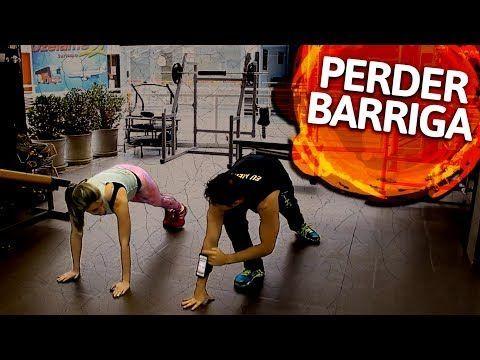 Os dois melhores exercícios para perder barriga (garantido) - YouTube