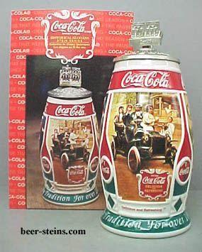 Budweiser Coca Cola stein