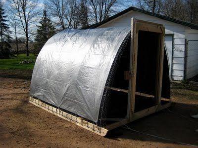 Building a Chicken Coop Hoop House - Part II