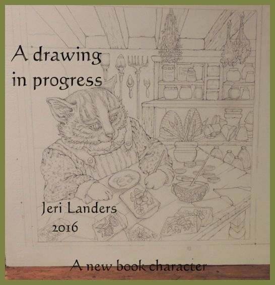 """New page in book:"""" Hopalong Hollowscaping"""" by Jeri Landers"""