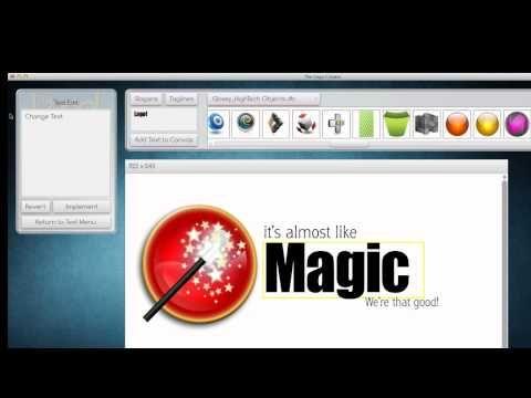 The Logo Creator - Logo Design Software version 6.0!