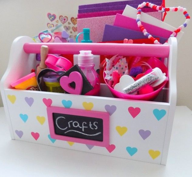 Valentine's Craft Caddy - Great Little Trading Company