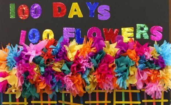 100 Days of School Project Ideas