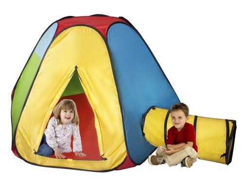 Take a look at this Yellow u0026 Blue Hexagon Hut by Playhut on today!  sc 1 st  Pinterest & 37 best play tents for kids images on Pinterest | Play tents ...