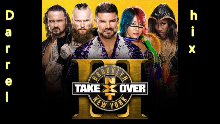 """WWE NXT Takeover: Brooklyn 3 Official Theme Song - """"No Fear"""" WITH DOWNLO..."""