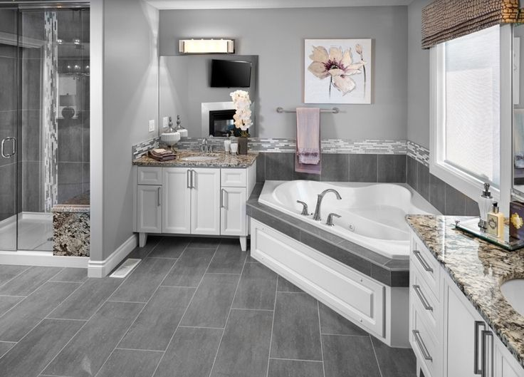 56 best images about master bathroom on pinterest double for Bathroom configurations