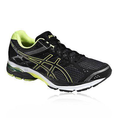 Asics Gel-Pulse 7 Mens Black Cushioned Running Road Sports Shoes ...