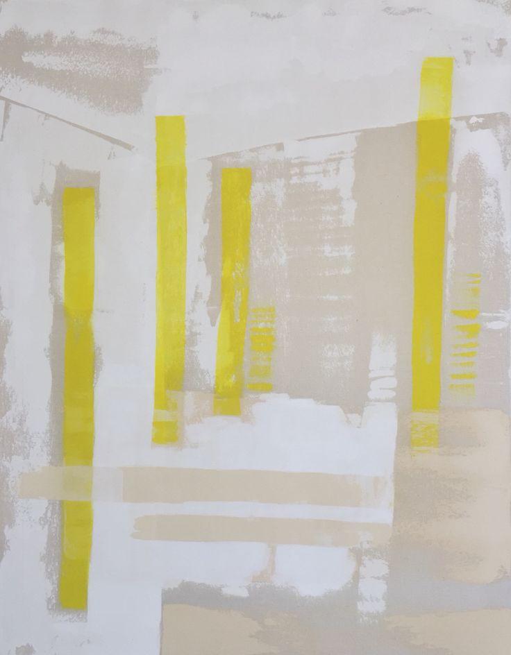 Lisette Schumacher Lucidus 95x75 cm 2015 Oil and acrylic on canvas