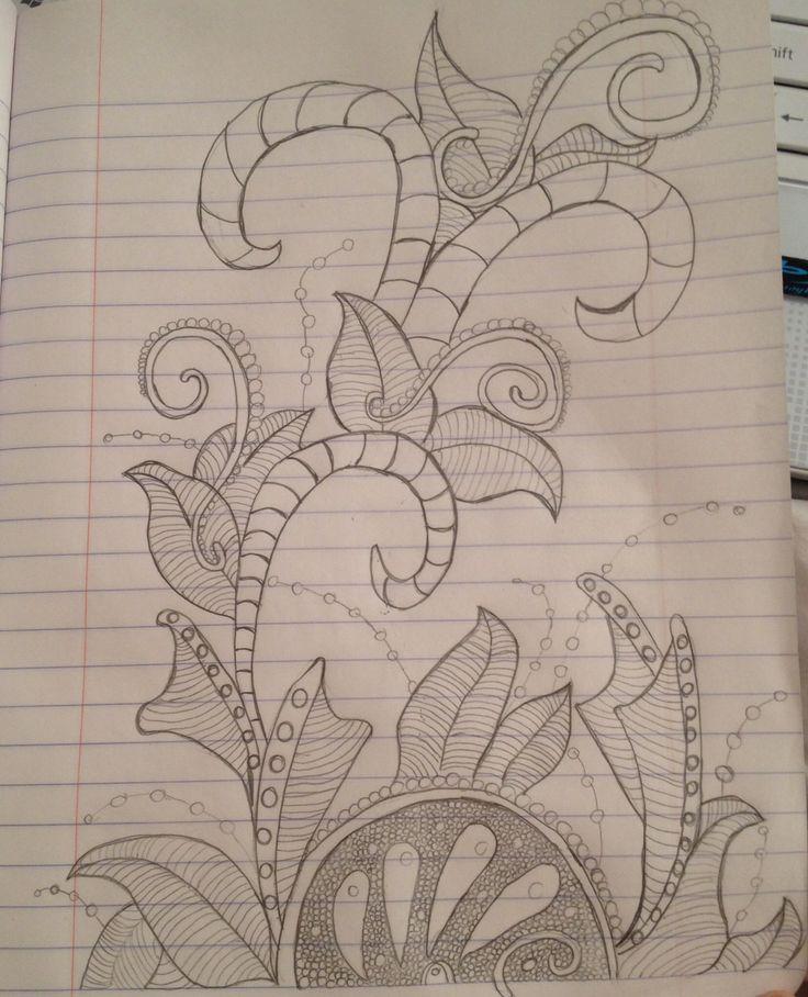 zentangle  dibujos