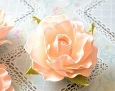 Нежная роза из фоамирана. Видео мастер-класс | Домохозяйка