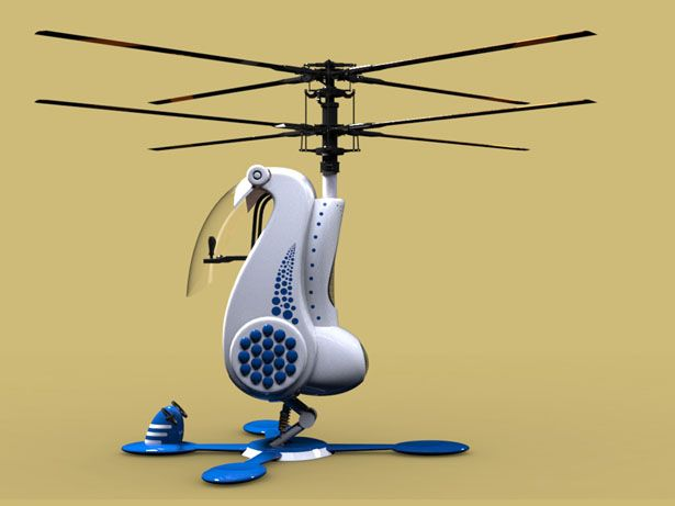 Futuristic Personal Helicopter for India by Sreejin Uchummal