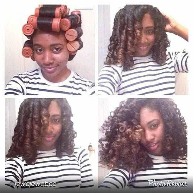 Relaxed Hair Health: Currently Craving | The Perfect Perm Rod Set - sheeeee, this is lovely, ugh I wish I could do a proper perm rod set!