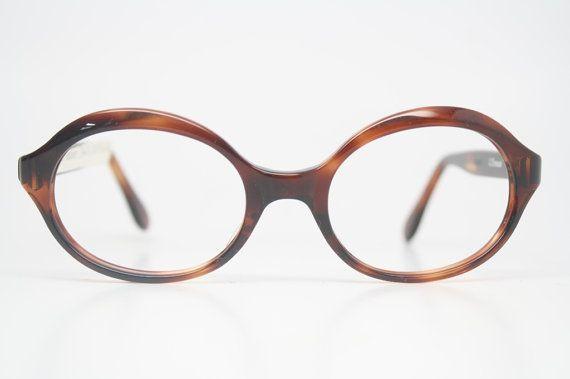 Vintage Eyewear Retro Eyeglass Frames  Tortoise vintage eyewear NOS Deadstock Vintage Eyeglasses