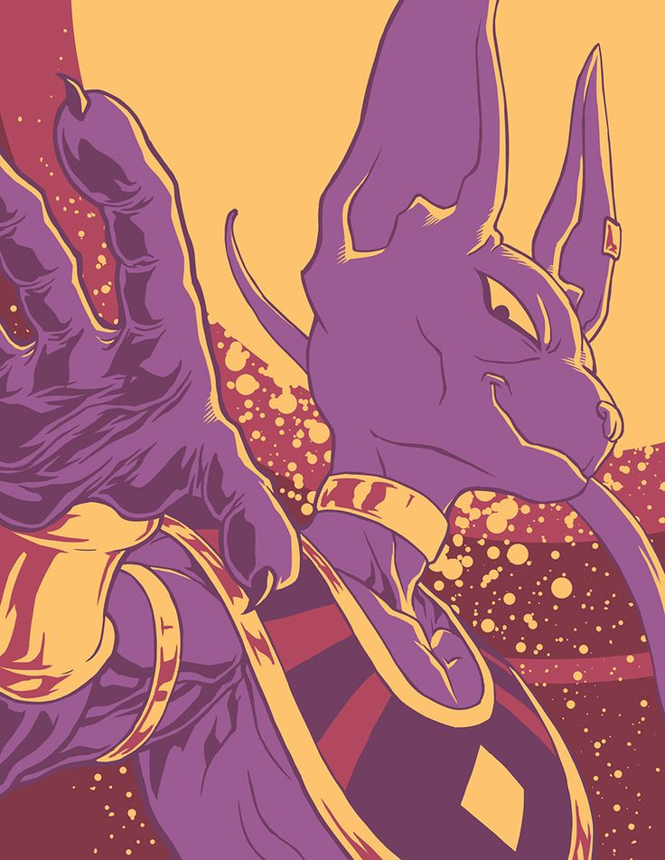 Beerus - 61 by SebastianvonBuchwald. I might get hated for saying this but I can see a lot of comparisons between him and Broly... in terms of dress sense anyway. *Cough* Jewellery *Cough* No shirt... Move along now.