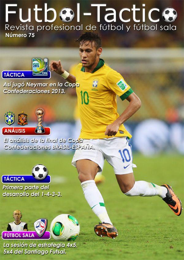 Fútbol Táctico | Portada de la edición número 75