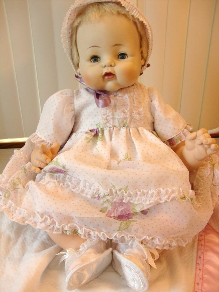 """1961 24"""" KITTEN BY MADAME ALEXANDER ~RARE MADE ONE YEAR ONLY ~PARTY DRESS"""