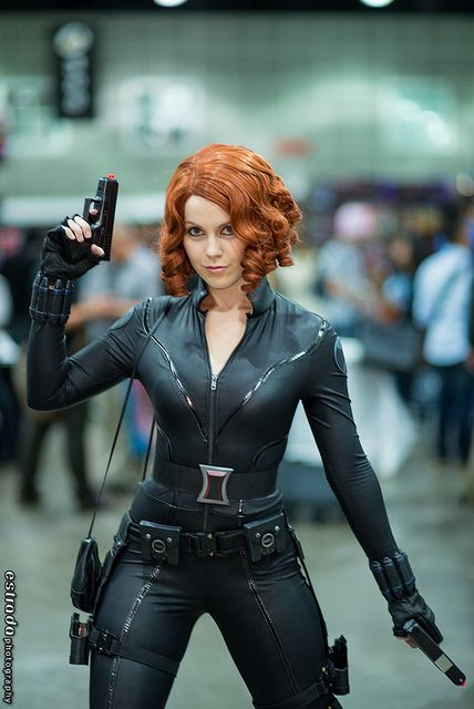 Black Widow - Marvel Comics | Comikaze 2013... I know a certain red-head that I would love to see in this outfit;)