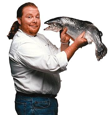 Chef (TV show) Mario Batali.