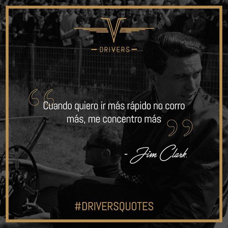 Fue el número uno en su tiempo, y para muchos aún lo es. por eso hoy se suma a nuestras #DriversQuotes el gran piloto Jim Clark.    #Drivers #DriversChile #Cars #Quotes #Fórmula1 #F1 #CarLovers #Miniaturas #AutosAEscala #Herramientas #Limpieza & #Detailing #Santiago #Chile  5:20 PM (CLST)