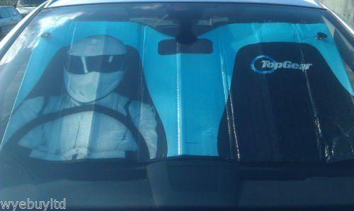 Stig réfléchissante voiture pare-brise pare-soleil: Top engrenage stig voiture réfléchissante marque pare-brise pare-soleil Mesures 127cm x…