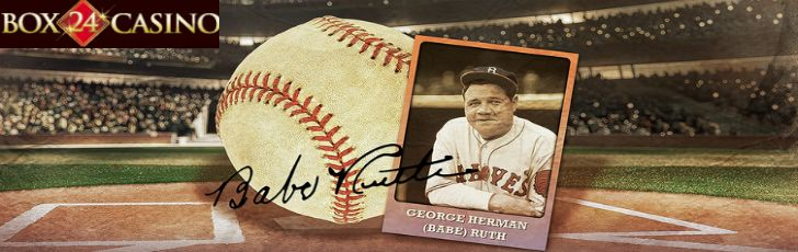 Celebrate Babe Ruth's life and win a Babe Ruth signed baseball worth $5,500 at Box 24 #Casino- http://freeslotmoney.com/win-a-babe-ruth-autographed-baseball-worth-5500-at-box-24-casino/