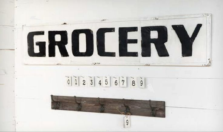 We're so excited over these vintage inspired signs! Now we can finally utilizeand beautify thoseugly, bare above-the-cabinet soffit spaces! Our huge black b