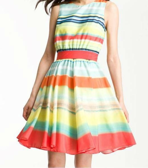 Women Bright Colour Stripes Casual Sundress With Back ! Neckline Lady Fashion Dress , Find Complete Details about Women Bright Colour Stripes Casual Sundress With Back ! Neckline Lady Fashion Dress,Casual Sundresses,Women Sundress,Fashion Women Dresses from Evening Dresses Supplier or Manufacturer-Guangzhou Dongfan Garment Factory