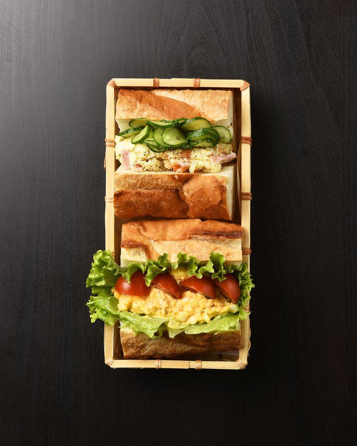 卵とポテトサラダのバケットサンド弁当 / Egg & Potato Salad Baguette Sandwich Bento お弁当を作ったら #edit_jp で投稿してね!