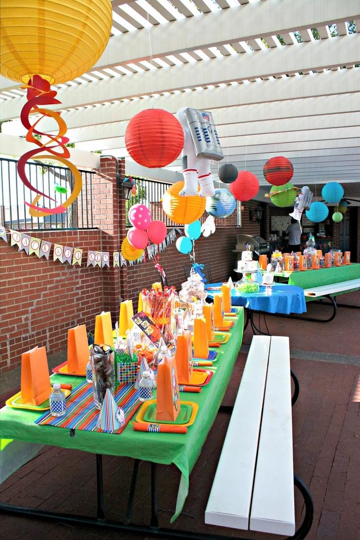 Best Images About Space Shuttle Party Ideas On Pinterest - Astronaut decorations