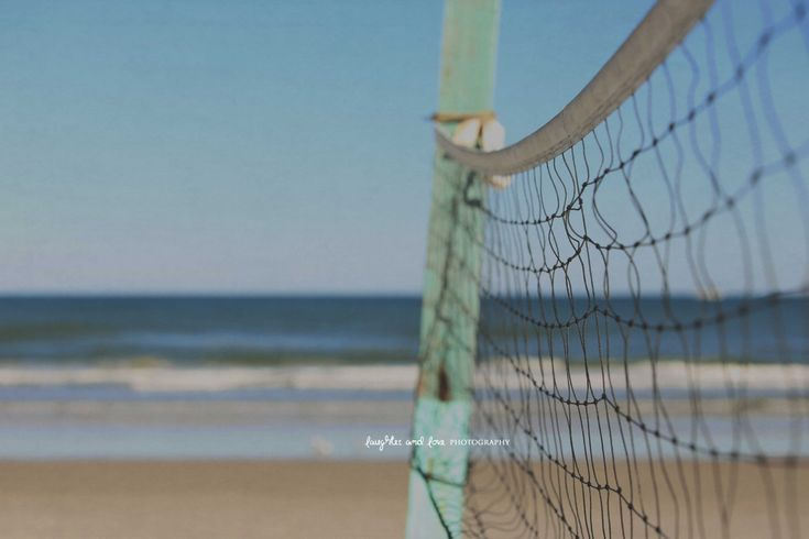 Beach Volleyball Fine Art Photography Sport Net Blue Mint Green Ocean Waves Florida Sand Tropical Coastal Nautical Home Decor Wall Art by laughlovephoto on Etsy