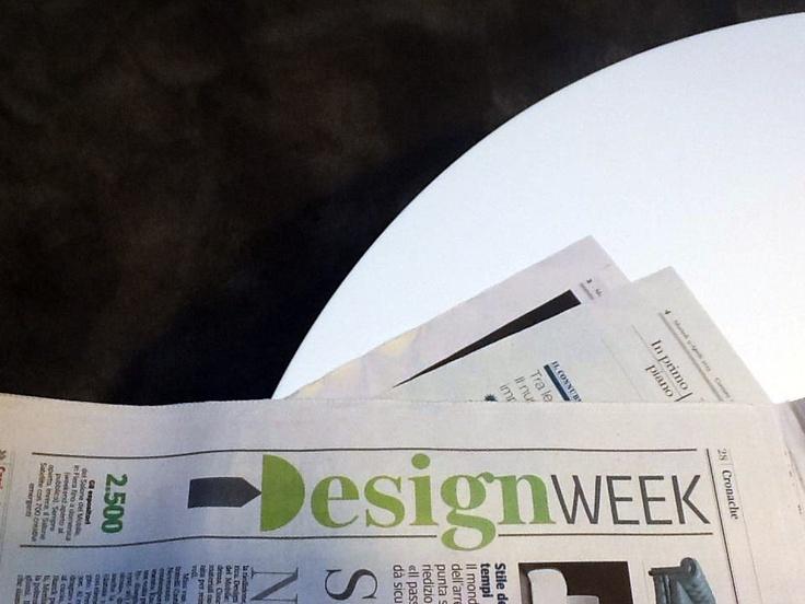 The Atollo's diffuser transformed in the DesignWeek word in the Corriere della Sera magazine. We love it!