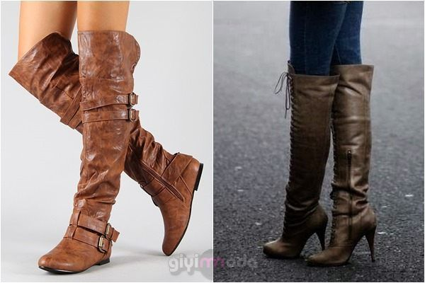 Fall/winter acessories- long boots =>www.giyimvemoda.com/sonbahar-kis-gardirobunda-olmasi-gerekenler.html