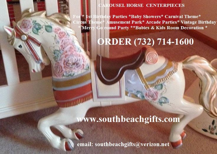 Carousel carosell horses on sale, Perfect  unique gift item for home or party event ORDER (7320 714-1600